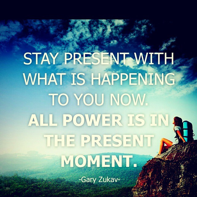 Being Present Is Easy Today