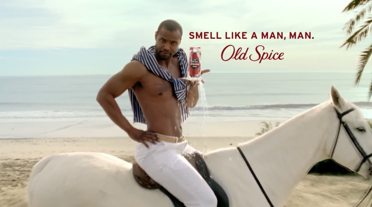 """""""THE MAN YOUR MAN COULD SMELL LIKE"""" Campaign By OLD SPICE"""