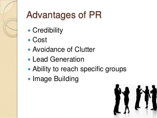 Advantages of PR