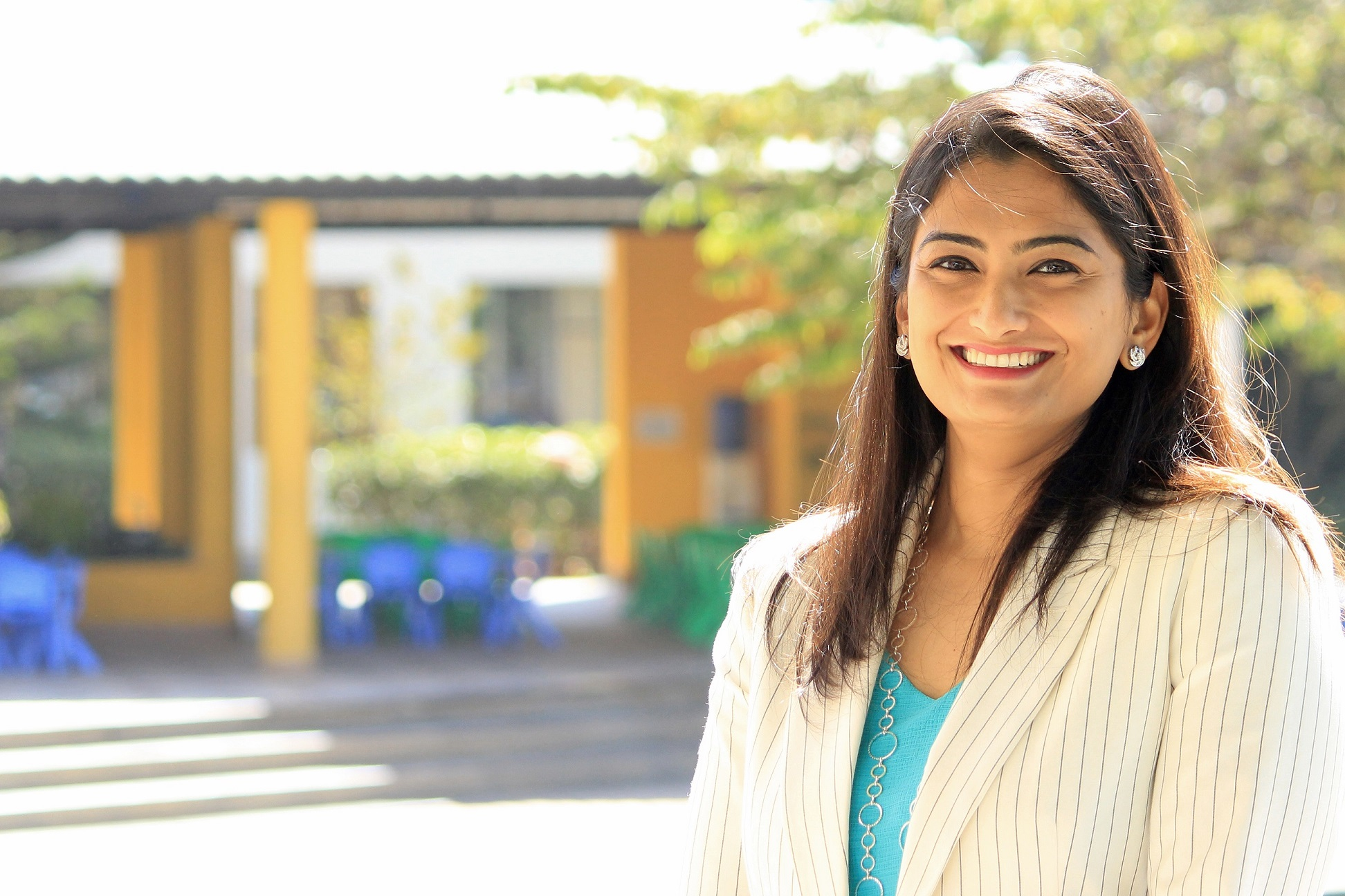 Ms. Shweta Sastri Managing Director Canadian International School Bangalore...