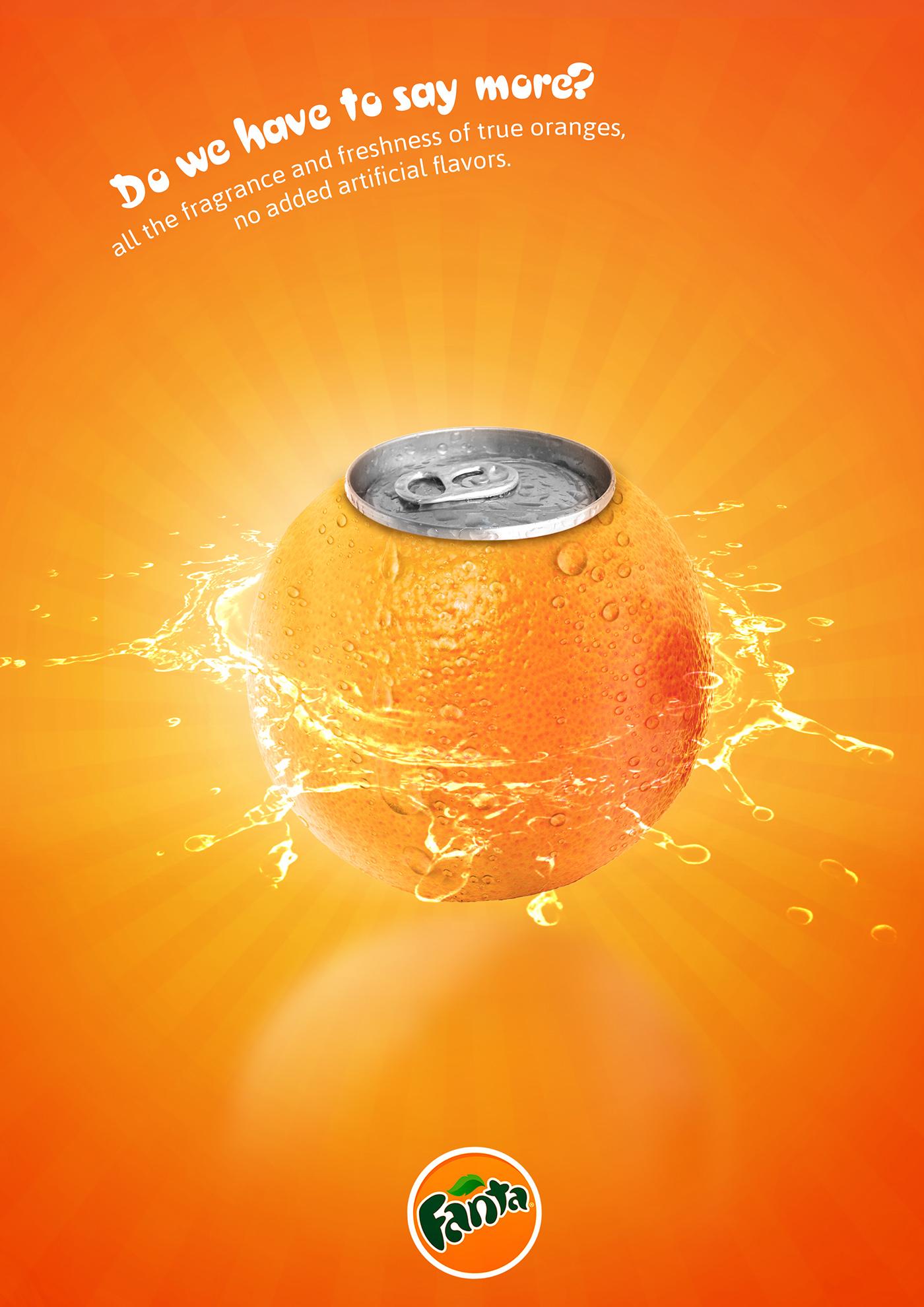 Fanta print ad - There's no need to say more