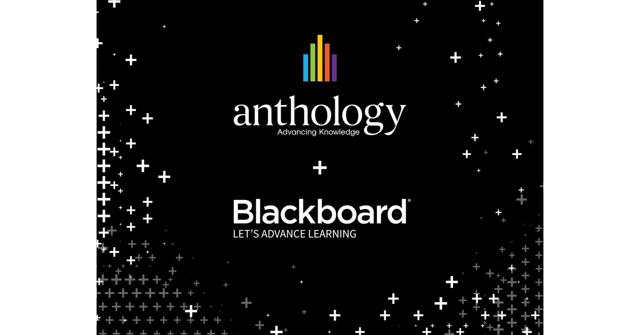Anthology and Blackboard Merge, Global Provider of Education Software and Solutions