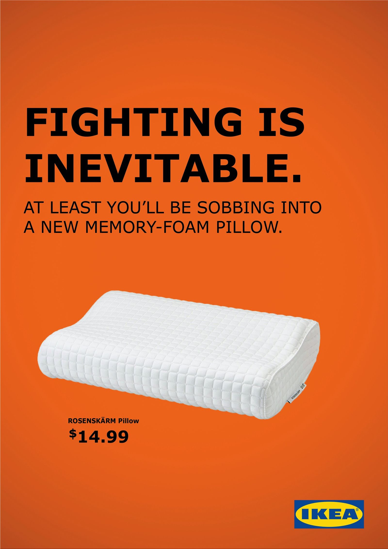 Miami Ad School promotes IKEA products with things that couples do after a fight