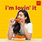 McDonald's (West and South) announces new film celebrity brand ambassador- Rashmika Mandanna
