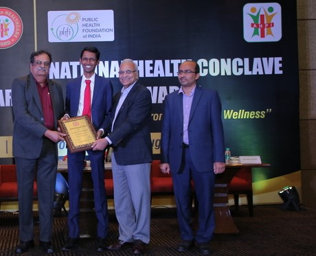 Meenakshi Mission Hospital Bags AHPI Award for Excellence in Covid Management