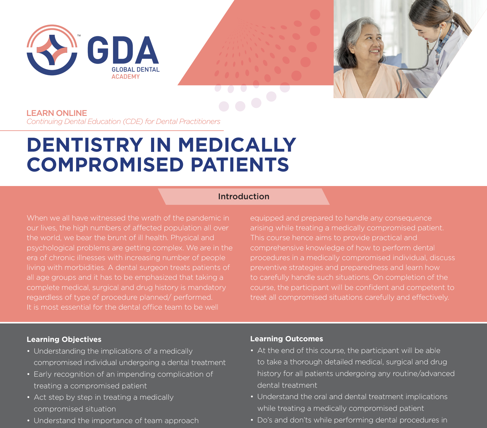 Dentistry in Medically Compromised Patients by Global Dental Academy
