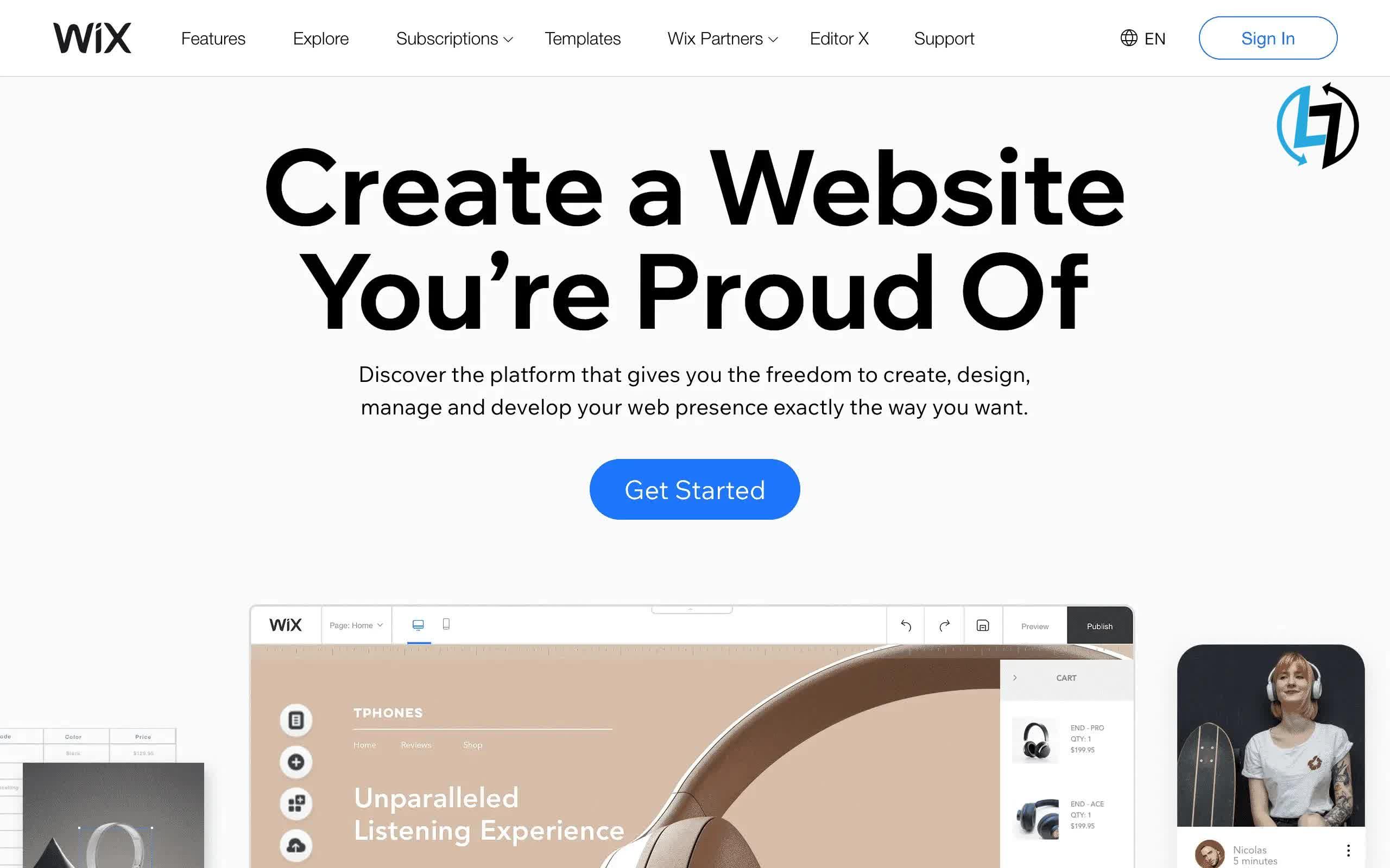 Wix website tools