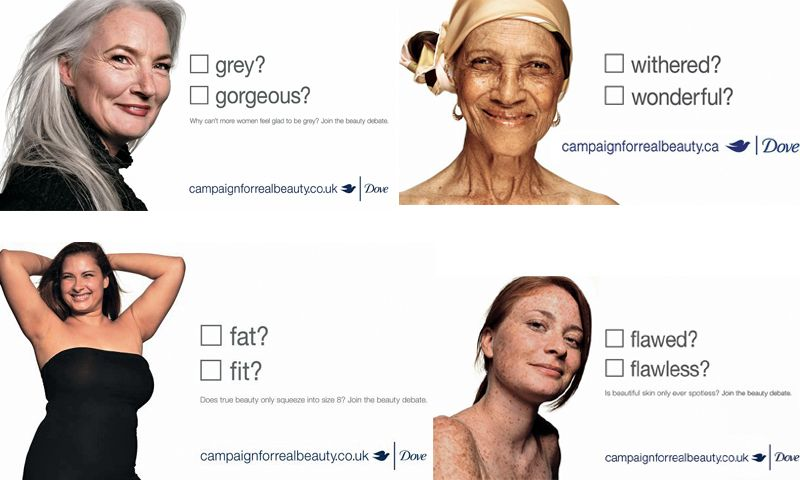 """The """"REAL BEAUTY"""" Campaign By DOVE"""