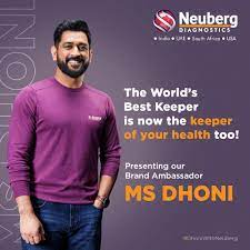Neuberg Diagnostics partners with MS Dhoni for health and wellness