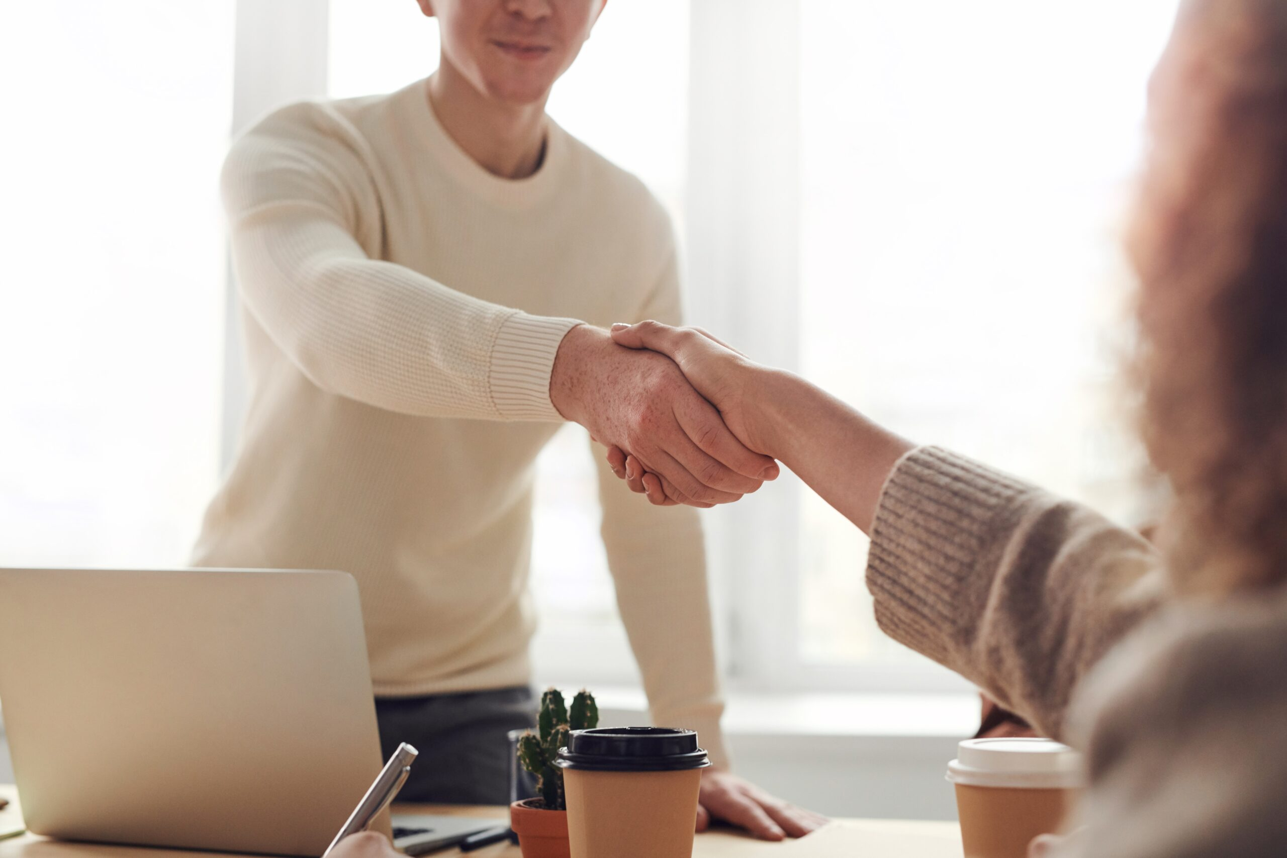Once you have a network of clients, your job becomes easy